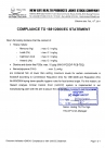 COMPLIANCE TO 1881 206 EC STATEMENT