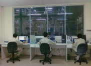 SPD production office, fully equipped with Scada software to control each step of the process.