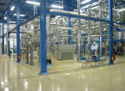 Molecular Distillation manufacturing production line to produce highly purified Omega-3 fatty acids