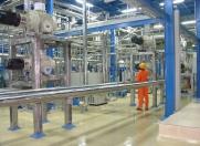 Short path distilation super High vacuum system 0.0001 mbar