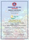 friend of the sea certificate